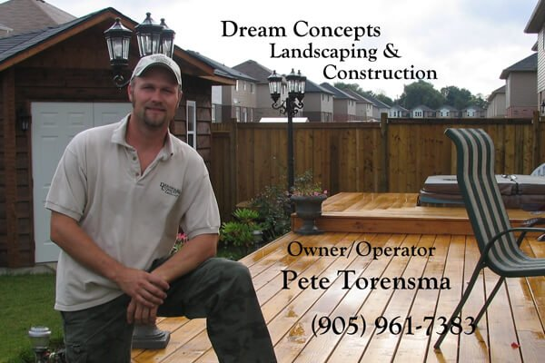 Pete Torensma - Landscaping and Construction Contractor Hamilton